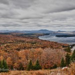 #Vistaphotography #JeffFolger, #JeffFoliage, Rangeley Lake Main view from above