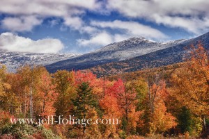 View of Mount Washington from Crawford Notch