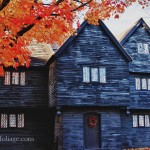 Salem's witch house which dates back to 1692