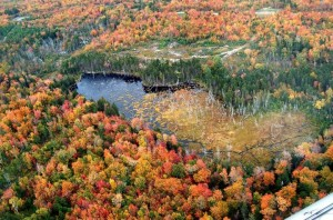 Currier's Flying Service, Inc. This is between Moosehead Lake and MT. Katahdin