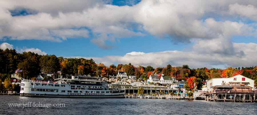 Mt Washington sets out for a fall foliage tour on the lake