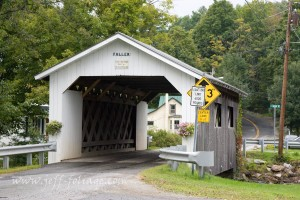 The Fuller Covered Bridge, also known as the Blackfalls Covered Bridge[2] is a wooden covered bridge that crosses Black Falls Brook in Montgomery, Vermont on Fuller Bridge Road. #JeffFolger, #JeffFoliage, #Vistaphotography