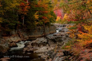 Coos Canyon fall foliage