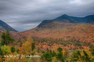 View from the Kanc to see a tapestry of autumn fall foliage