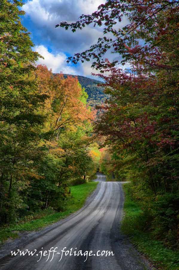 23 September fall foliage color on Hazens Notch