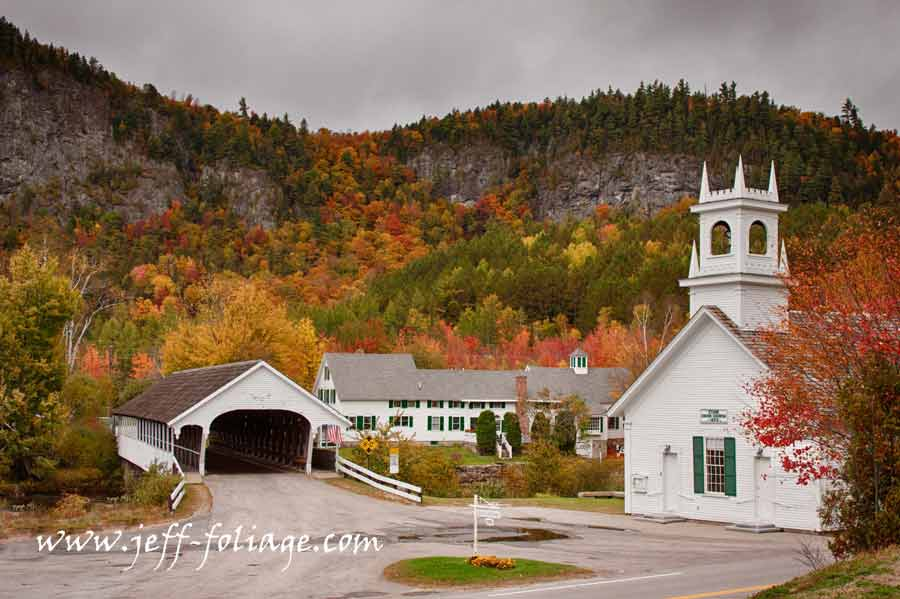 Nh Scenic Drive For Autumn New England Fall Foliage