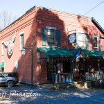 This old brick store is known for its sandwiches and a great place to stop on your journey