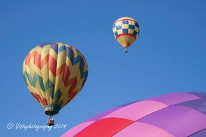 Take a balloon ride! during fall foliage season in New England