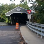 Covered bridges in North Conway Foliage report