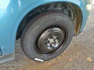 flat tire in Maine