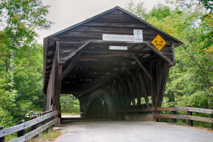 scenic New Hampshire and the Durgin covered bridge