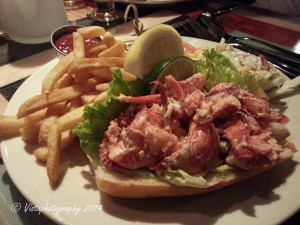 lobster roll-Sea Crest hotel