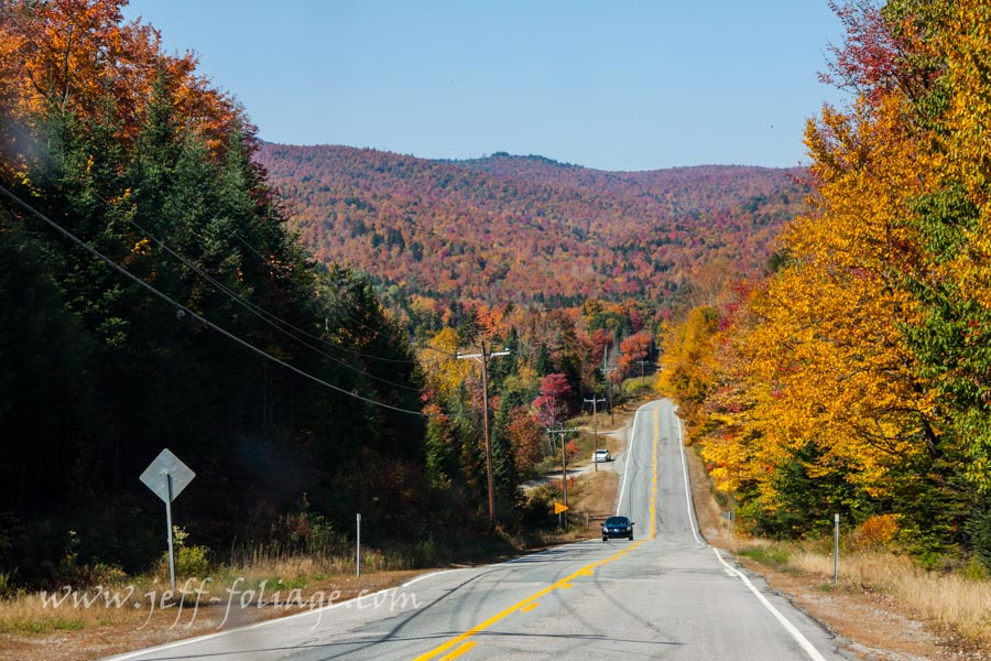 Errol NH on 28 September for early fall color