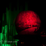 Emerald city pumpkin in Roger Williams zoo