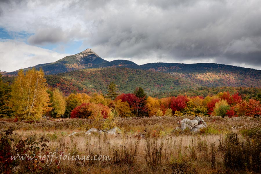 Mount Chocorua in autumn fall colors