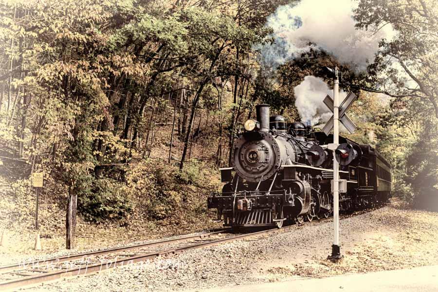 No. 40 steam train in Essex CT-77_option-2