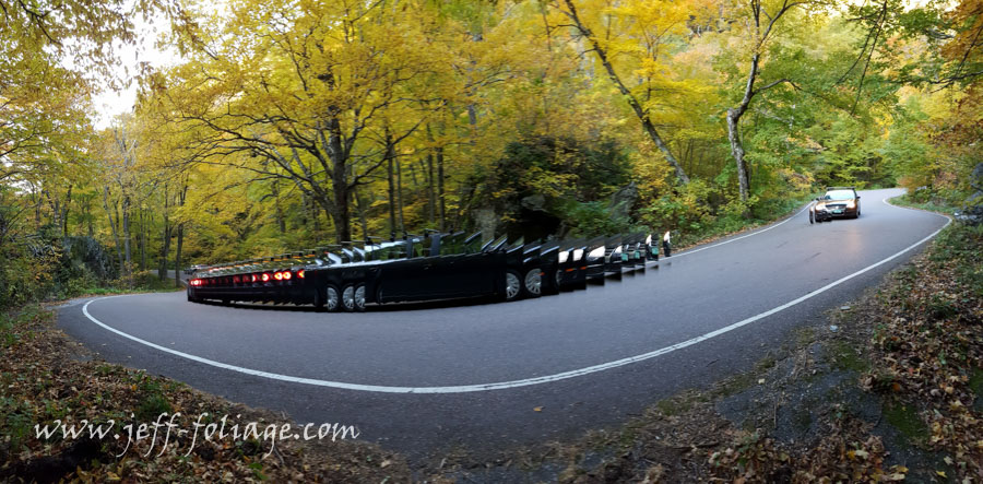 A car was in the shot and I thought I would continue the capture of the panoramic. Not for the faint of heart or those who have big vehicles.