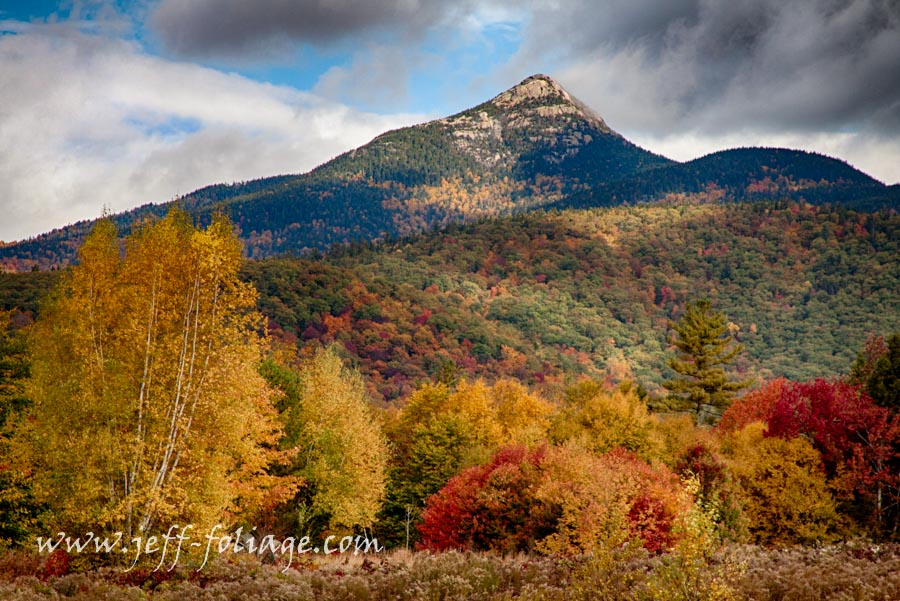 fall colors around Tamworth New Hampshire off Fowlers Mill road