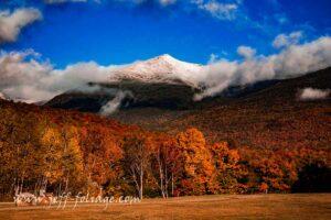Route 16 scenic drive takes you past Mount Washington