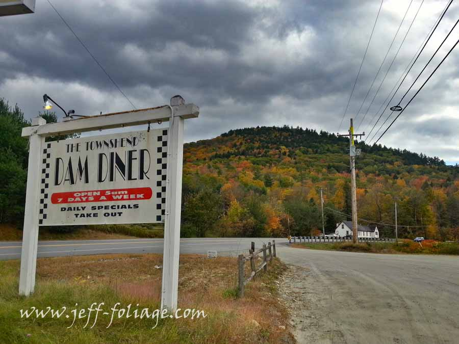 A diner in Townsend Vermont