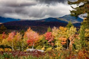 View of Mount Chocorua off Fowlers mill road