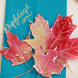 Order fall foliage from New England.