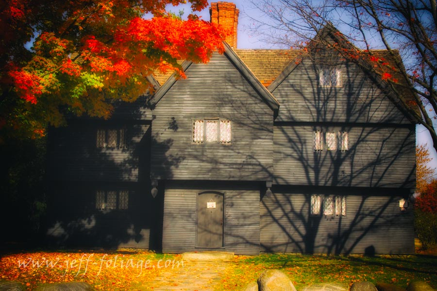 "The ""Witch house"" of Salem Massachusetts"