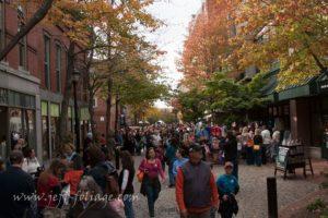 crowds on essex street