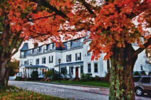 Inn at Sunset Hill in autumn